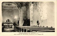 Schneckenbusch bei Saarburg i L Innere Ansicht der kath Kirche - Schneckenbusch