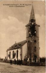 Schlacht bei Saarburg - Kirche in Schneckenbusch - Schneckenbusch