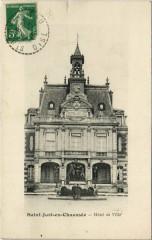 Saint-Just-en-Chaussee - Hotel de Ville - Saint-Just-en-Chaussée