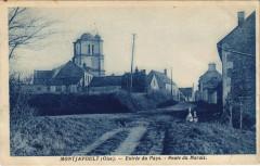 Montjavoult - Entrée du Pays - Route du Marais - Montjavoult