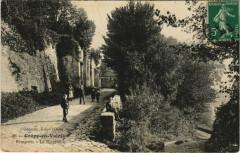 Crepy-en-Valois Remparts, La Poterne - Crépy-en-Valois