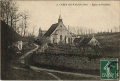 Crepy-en-Valois Eglise de Bouillant - Crépy-en-Valois