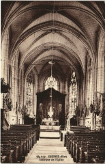 Chepoix Interieur de l'Eglise - Chepoix