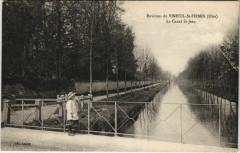 Env. de Vineuil - Saint-Firmin Le Canal Saint-Jean - Vineuil-Saint-Firmin