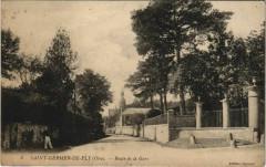 Saint-Germer-de-Fly - Route de la Gare - Saint-Germer-de-Fly