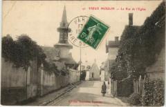 Vieux Moulin - La Rue de l'Eglise - Vieux-Moulin
