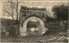 Foret de La Neuville-en-Hez - Porte du couvent de la Garde - La Neuville-en-Hez