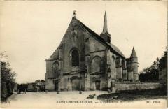 Saint-Crepin-aux-Bois - L'Eglise - Saint-Crépin-aux-Bois