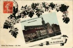 Saint-Germer-de-Fly - Entree de l'Ancienne Abbaye - Eglise - Saint-Germer-de-Fly