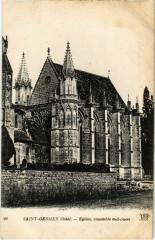 Saint-Germer-de-Fly - Eglise - Ensemble Sud-Ouest - Saint-Germer-de-Fly