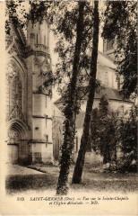 Saint-Germer-de-Fly - Vue sur la Sainte-Chapelle - Saint-Germer-de-Fly