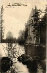 Saintines - Le Vieux Donjon du Chateau et le Canal - Saintines