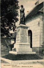 Goincourt - Monument aux Morts - Goincourt