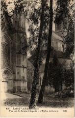 Saint-Germer-de-Fly - Vue sur la Sainte-Chapelle et l'Eglise - Saint-Germer-de-Fly