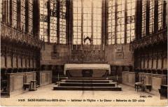 Saint-Martin-aux-Bois - Interieur de l'Eglise - Le Choeur - Saint-Martin-aux-Bois