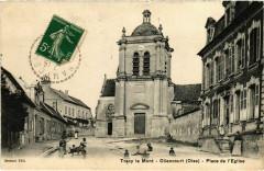 Tracy le Mont-Ollencourt-Place de l'Eglise France - Tracy-le-Mont