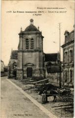 Tracy le Mont- Eglise France - Tracy-le-Mont