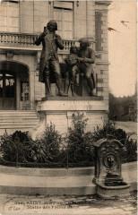 Saint-Just-en-Chaussee Statue des Freres Hauy - Saint-Just-en-Chaussée
