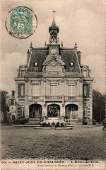 Saint-Just-en-Chaussee L'Hotel de Ville - Saint-Just-en-Chaussée