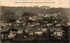 Cires-les-Mello Panorama pris du Jeu d'Arc - Cires-lès-Mello
