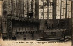 Saint-Martin aux Bois L'Eglise. Le Choeur et les Statues Boiserie - Saint-Martin-aux-Bois