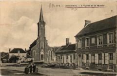 LieuVILLERS-L'Eglise et la Mairie - Lieuvillers