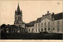 Bresles-Mairie et Eglise - Bresles