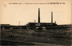 Gannes - Briqueterie et Tuilerie Mecanique N. Genevet et Cie - Gannes