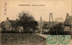 Parnes - La Rue de l'Ecole - Parnes