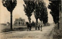 La Rue Saint-Pierre - Entrée du pays - La Rue-Saint-Pierre