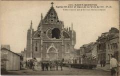 Saint-Quentin Eglise Saint-Eloi et Gare de la Voice de 60 - Saint-Quentin