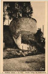 Marle La Tour vestige des fortifications - Marle