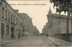 Vervins Rue de Paris vers la Place Carnot - Vervins