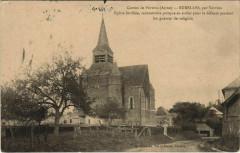 Burelles par Vervins Eglise fortifiee - Burelles