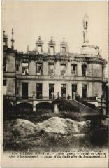 Guerre 1914 a 1917 Soupir Focade du Chateau - Soupir