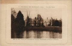 Chateau de Marchais Vue du Canal - Marchais