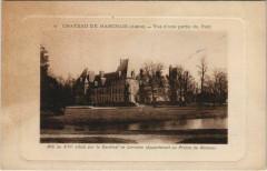 Chateau de Marchais Vue d'une partie du Parc - Marchais