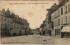 Villers-Cotterets Place du Marche et la Rue de Paris - Villers-Cotterêts
