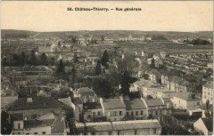 Chateau-Thierry Vue generale - Château-Thierry