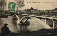 Vic-sur-Aisne Vue prise avant la Guerre - Vic-sur-Aisne