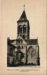 Vailly-sur-Aisne avant la Guerre L'Eglise - Vailly-sur-Aisne