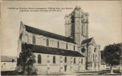 Vorges par Bruyeres avant guerre l'Eglise Saint-Jean Baptis - Vorges