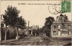 Vervins Avenue de la Gare prise du Pont France - Vervins