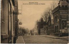 Vervins Rue de la Liberte et Chaussee de Fontaine France - Vervins