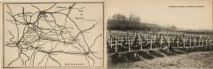 Cimetiere Militaire de Crouy-Vauxrot - Map - Double Sided Pc - Crouy