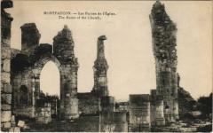 Montfaucon - Les Ruines de l'Eglise - Montfaucon