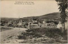 Vauxaillon et le Mont des Singes - Ruines - Vauxaillon
