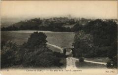Chateau de Coucy - Vue prise de la Tour de Moyembrie - Brie