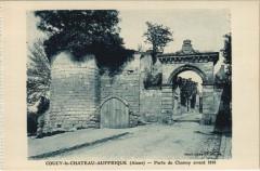 Coucy-le-Chateau-Auffrique - Porte de Chauny avant 1918 - Coucy-le-Château-Auffrique