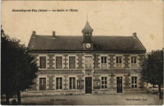 Grandlup-et-Fay - La Mairie et l'Ecole - Grandlup-et-Fay